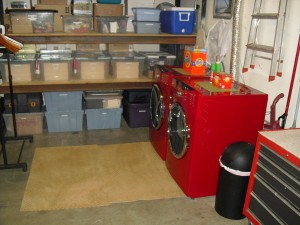 The work of Donna Till, Professional Organizer: Garage After