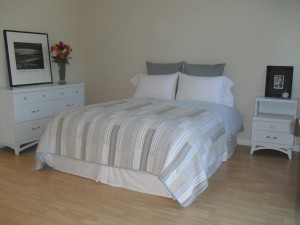 The work of Donna Till, Professional Organizer: Bedroom After