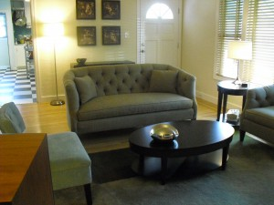 The work of Donna Till, Professional Organizer: Living Room After